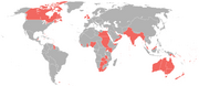Map British Empire in 1898