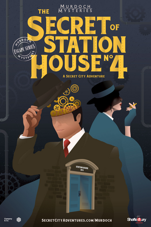 Murdoch Mysteries Escape Series 1