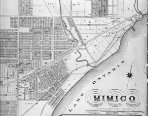 Mimico Historical plan