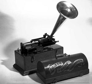 Edison Recorder B&W