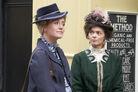 1316 Louise Cherry and Sarah Davis at Harper Hair Salon