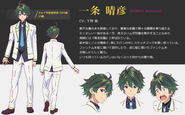 Haruhiko Ichijo Character Design