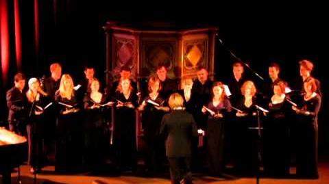 """Eric Whitacre """"Ave Maris Stella"""" Dufay."""
