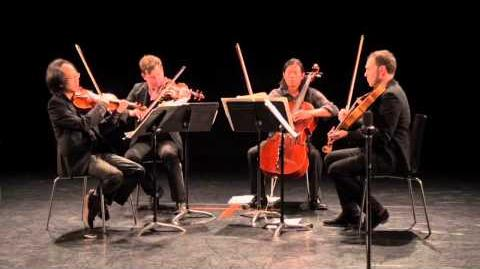 FLUX QUARTET plays STRUCTURES by MORTON FELDMAN