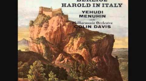 BERLIOZ - Harold en Italie Op. 16 (Sir Colin DAVIS Philarmonia Orchestra) - COMPLETE