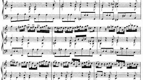 Bach Toccata, Adagio & Fuga in C, BWV 564