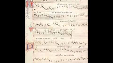 Jacopo da Bologna & Francesco Petrarca - Non al su' amante piú Dïana piacque (1350)