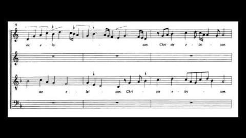 Johannes Ockeghem - Missa Prolationum - Kyrie-1