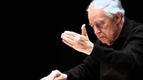 Haydn Symphony 103 Pierre Boulez Chicago SO 03 12 2006