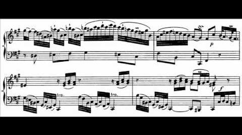 Hamelin plays C.P.E. Bach - Sonata in A, W.55 No. 4 Audio Sheet music