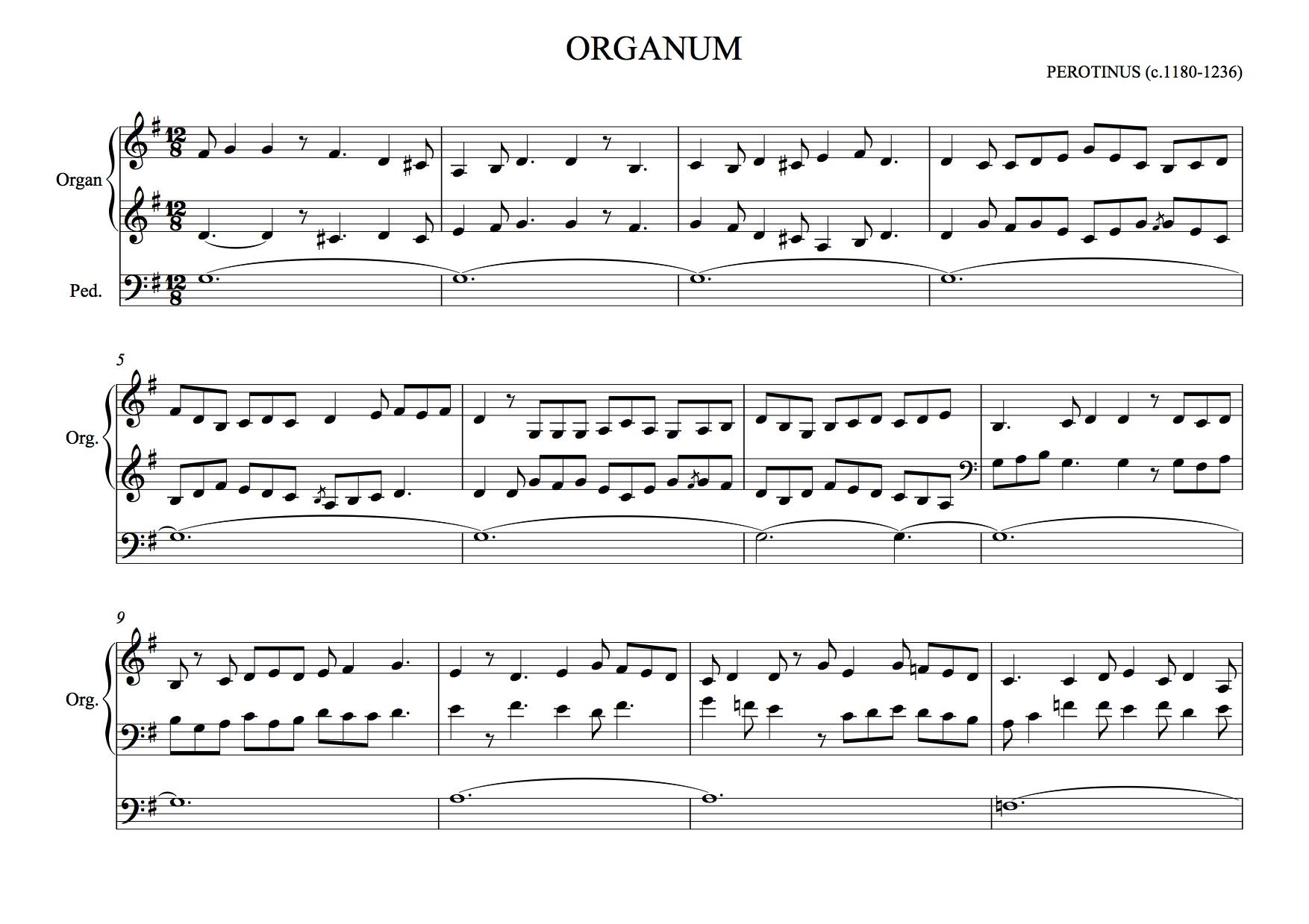 Perotin -Organum Triplum | MUSC520 Musical Styles S14 Wiki