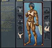Female Barbarian by Higalack