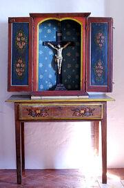 Cristo em Oratório - foto de Jose Cartaxo