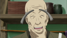Haru's grandfather
