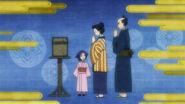 Haru with her parents