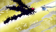 Mugai attack the Dragonfly