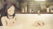 Haru in the bath house