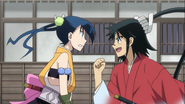 Hibachi and Jinbei