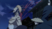 Shungiku being cut
