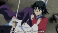 Haru hug and thank Jinbei