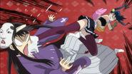 Hibachi kicked Nagatomi