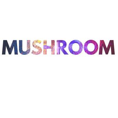 Mushroom logo word