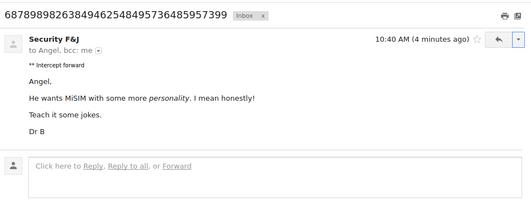 Email intercept 22-9