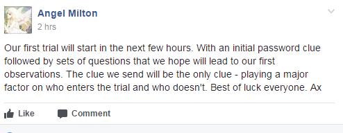 Angel fb new trial start