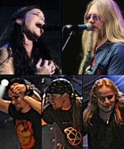 Nightwish with Anette and Marco