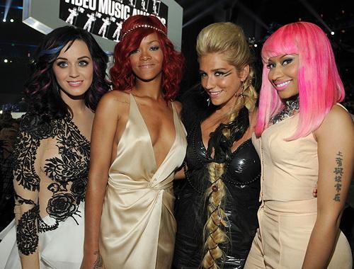 File:Nicki Minaj Katy Perry Rihanna Kesha.jpg