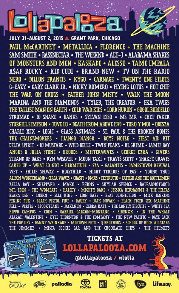 Lollapalooza-2K15-Lineup