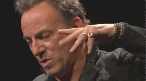 """Bruce Springsteen discusses """"Wrecking Ball"""""""