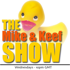 The Mike & Keef Show - Official Logo