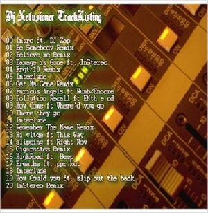 DJ Xefuzion - Mixtape - The Xperience Mixtape (Original Version) - Back