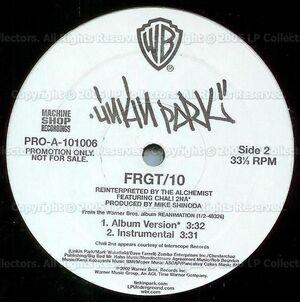 Linkin Park - Enth E Nd-Frgt-10 Vinyl (Side 2)
