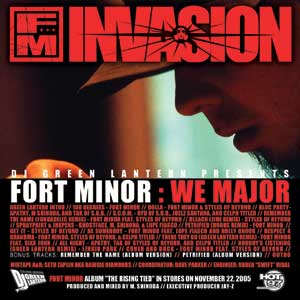 File:Fort Minor - We Major (Official Cover from DJGreenLantern.Com).jpg