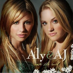 Aly & AJ - Into The Rush (Front Cover)
