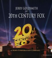 Jerry Goldsmith at 20th Century Fox (songbook)