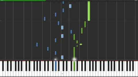 Fantaisie-Impromptu (Opus 66) - Frederic Chopin Piano Tutorial (Synthesia)