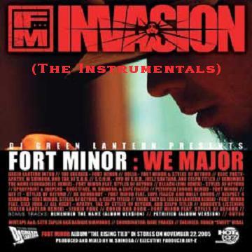 File:Custom CD Cover - Fort Minor- We Major (Instrumentals).jpg