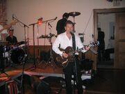 Al Boston performing