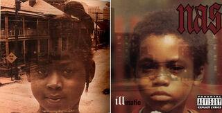 Illmatic Album Cover Comparison