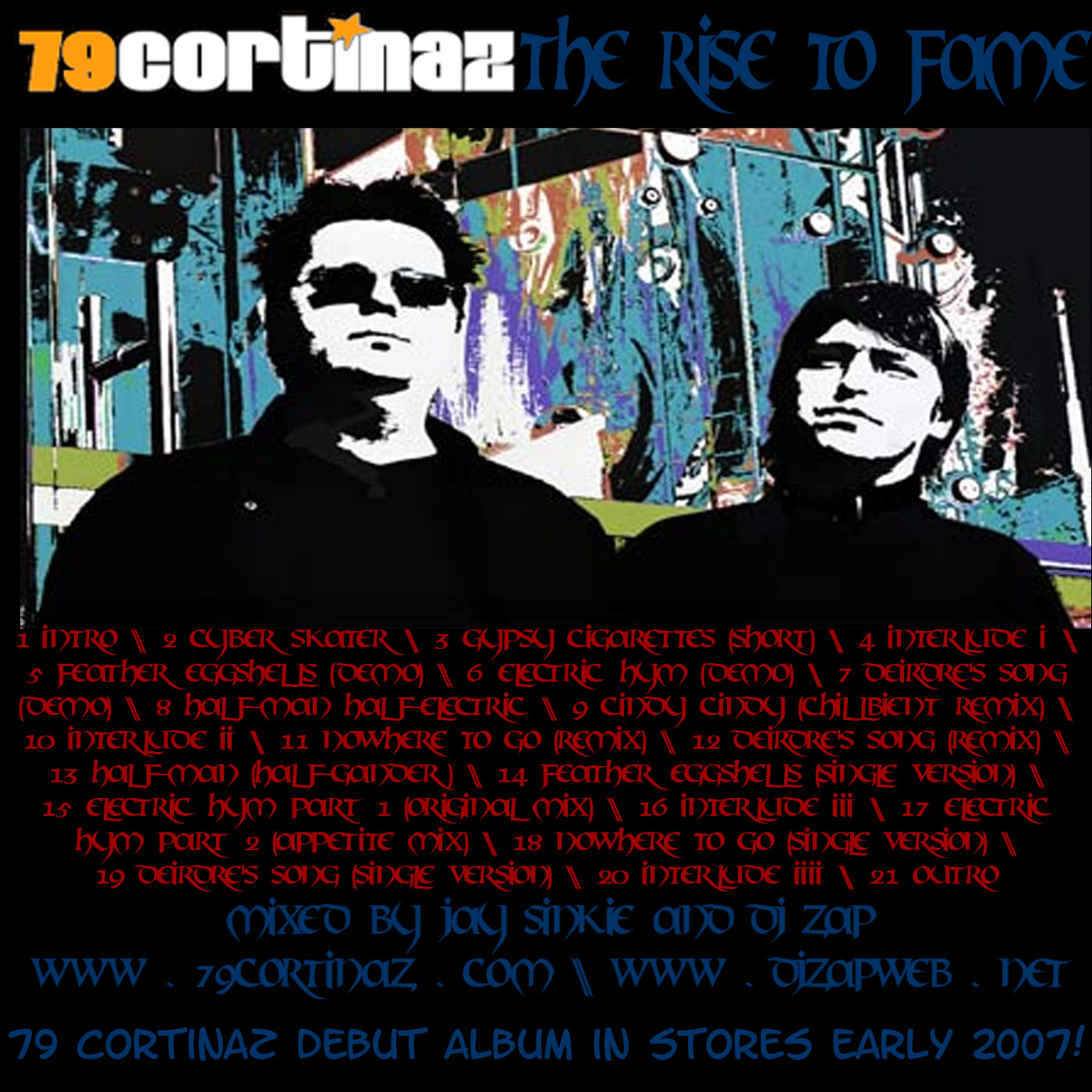79Cortinaz: The Rise To Fame (Official Mixtape):79Cortinaz | Music