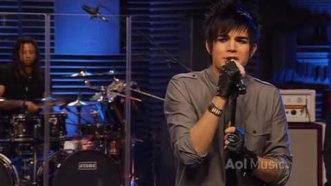 Whataya Want From Me (AOL)- Adam Lambert