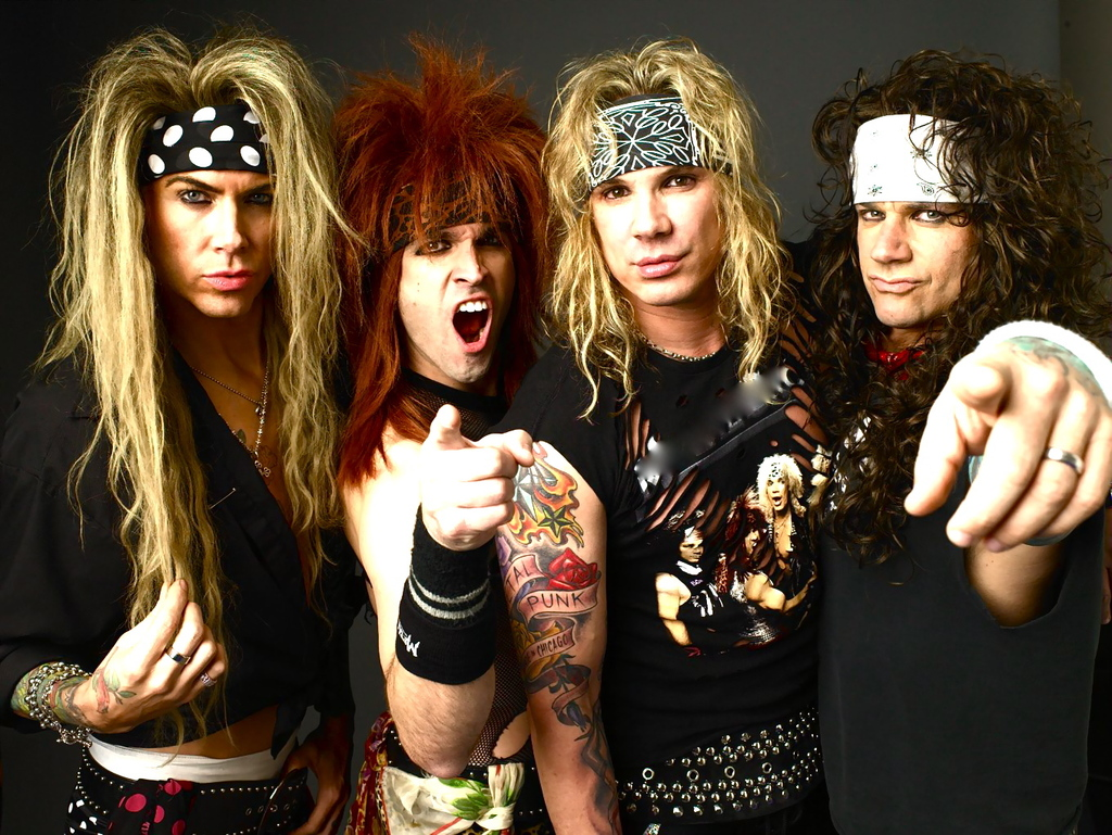 Steel Panther With Makeup