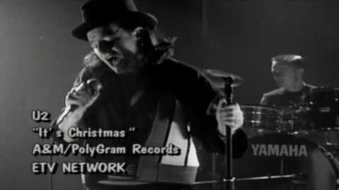 "U2 - ""Christmas (Baby Please Come Home)"""
