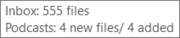 New File tooltip