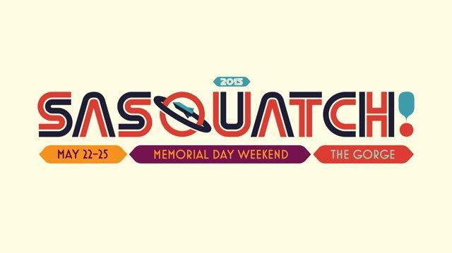 Sasquatch! Music Festival 2015 Lineup Announcement