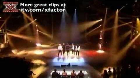 One Direction - Chasing Cars - The X Factor - Week 9 (Semi-Final)
