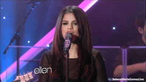 Selena Gomez Love You Like A Love Song (Live on The Ellen DeGeneres Show 17 11 11)